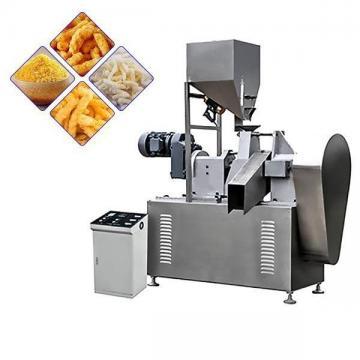 Fried Baked Cheetos/Kurkure/Cheese Curls Twist Snacks Nik Naks Making Machine