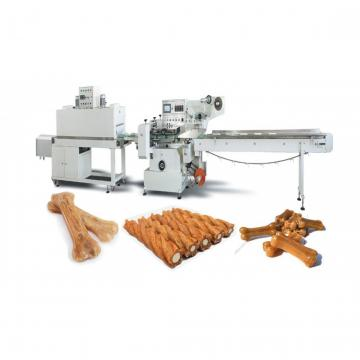 Double Color Different Shapes Automatic Dog Treats Extruder Machine Equipment