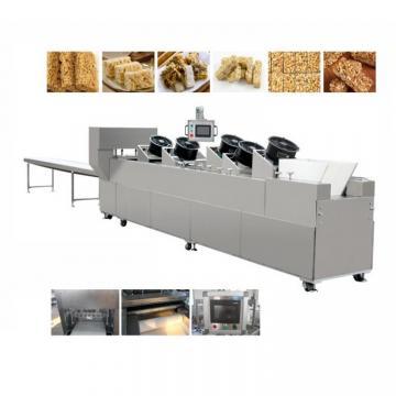 Professional Groundnut Chikki Cereal Snack Fruit Bar Equipment